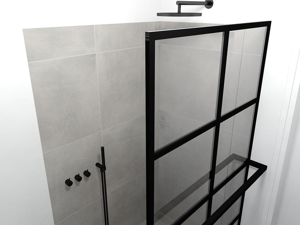 badkamer amstelveen stalen douchewand badkamer pinterest