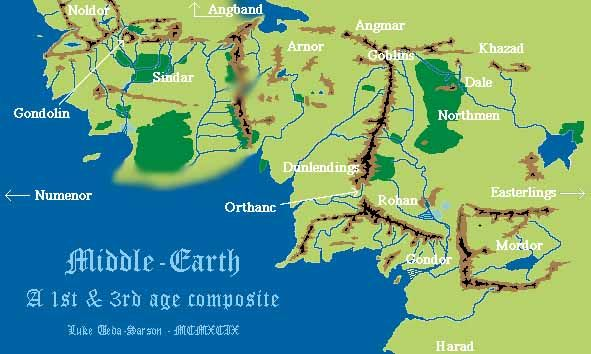 Pin on Middle earth Artwork