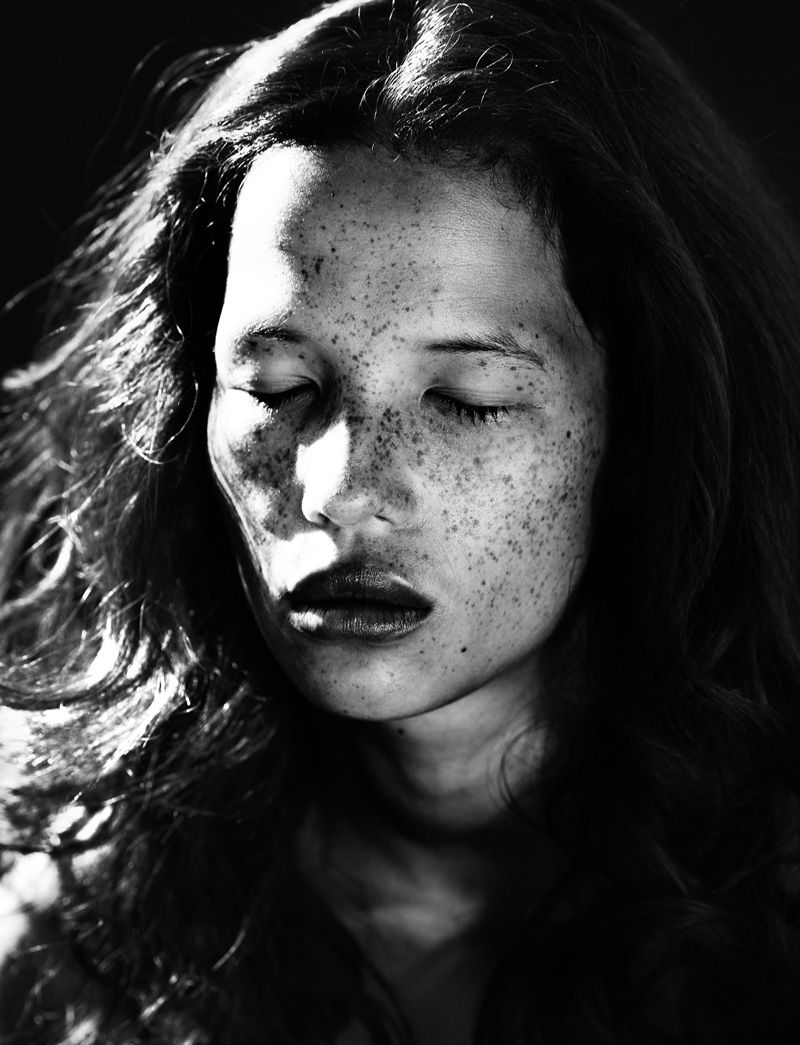 From the land of the long white cloud, New Zealander newcomer Danielle has a strange and curious beauty. #freckles