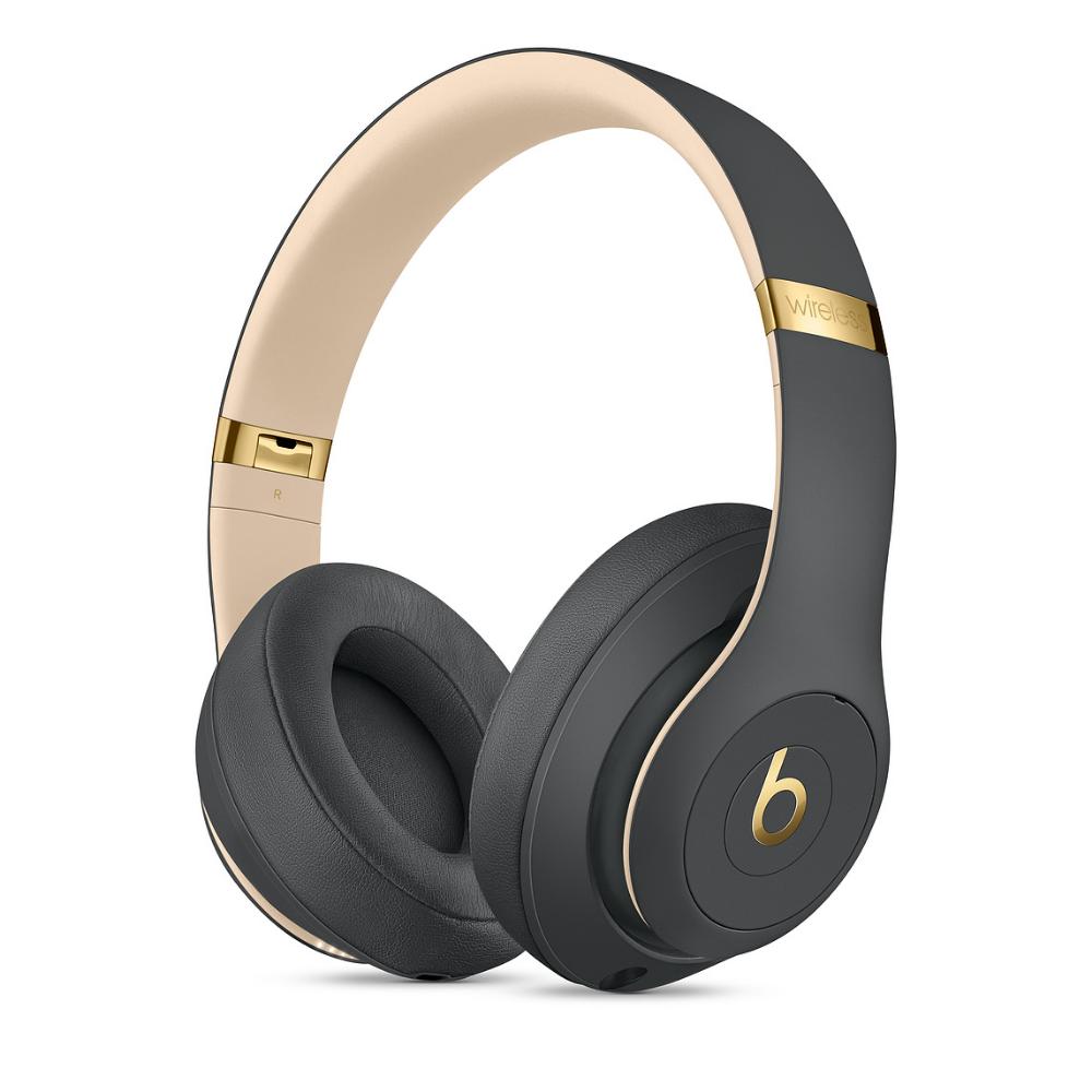 Beats Studio3 Wireless Over Ear Headphones Shadow Grey Apple Uk In 2020 With Images Over Ear Headphones Wireless Headphones Headphones