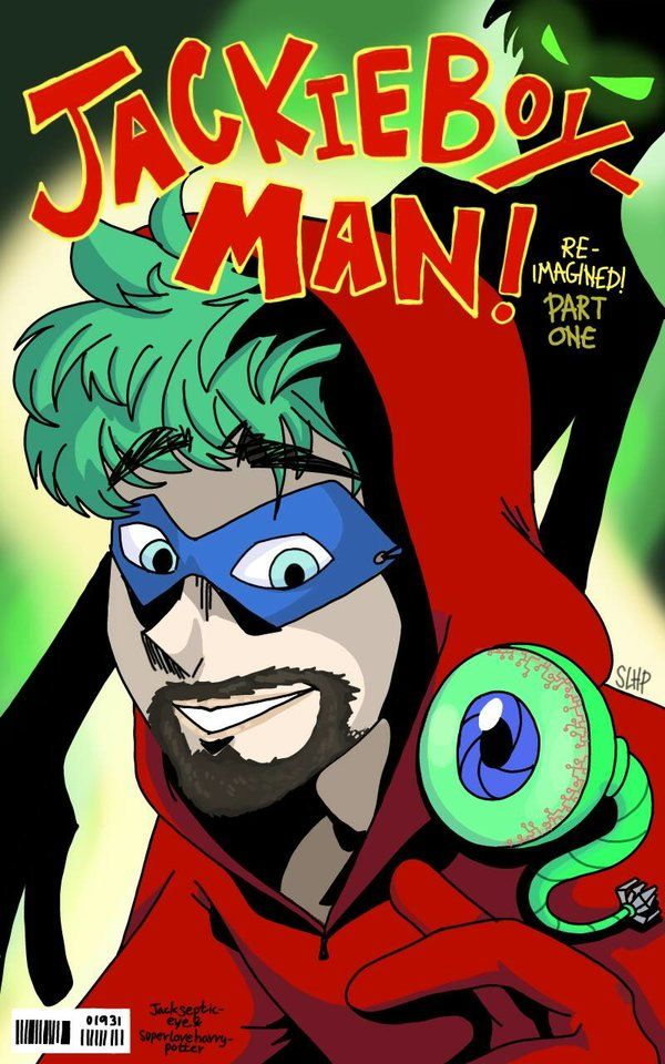 Man Youtube Makeup Gurus: Jackieboy Man! Issue 1 Cover By Superloveharrypotter