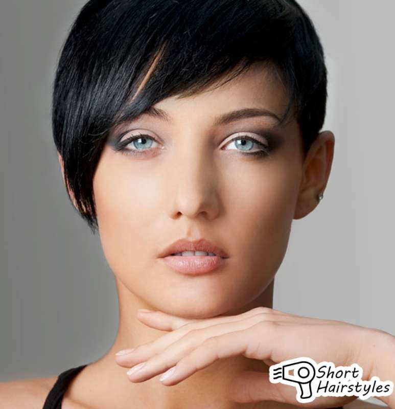 short hairstyles for women with round faces 2014 short