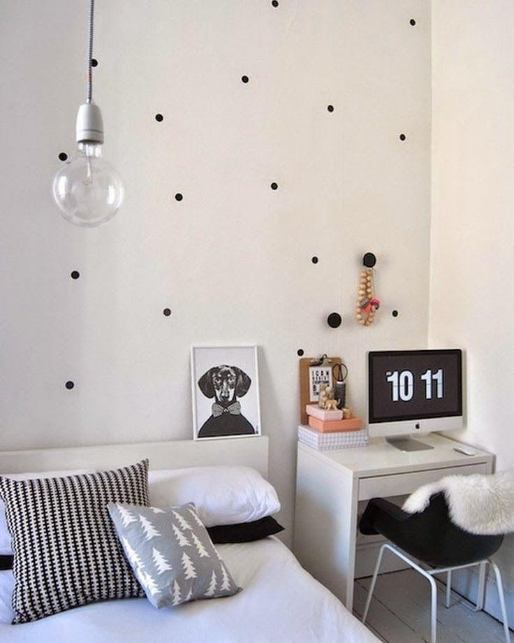 Deliciously at Home - Decor - Food - Wellness: Decor   Decoração para quartos pequenos