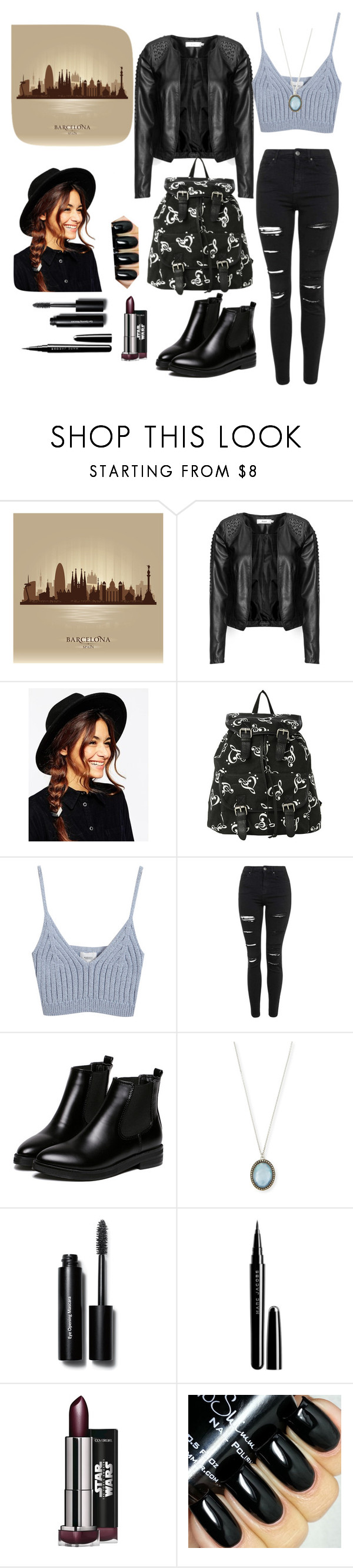 """Untitled #82"" by bertuki21 ❤ liked on Polyvore featuring Zizzi, ASOS, Chicnova Fashion, Topshop, WithChic, Armenta, Bobbi Brown Cosmetics and Marc Jacobs"