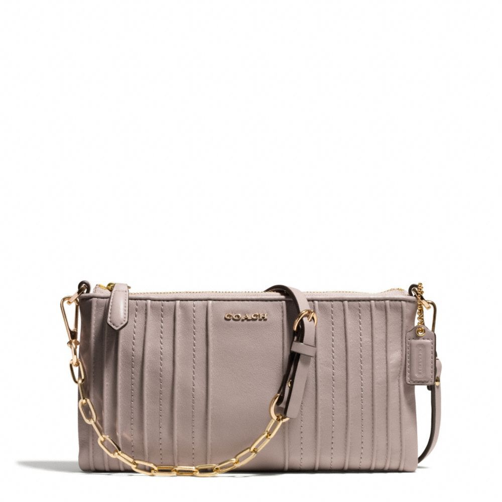 d1206952a031c COACH Official Site. Definitely on my WANT list!! The Madison Kylie  Crossbody In Pintuck Leather ...