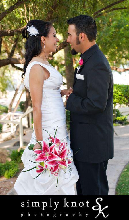 The stargazer bouquet i made for pretty bride rachel for Magasins de robe de mariage portland oregon