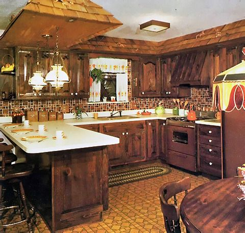 Design Flashback: The Colors of the 70s | Kitchens, 70s kitchen ...