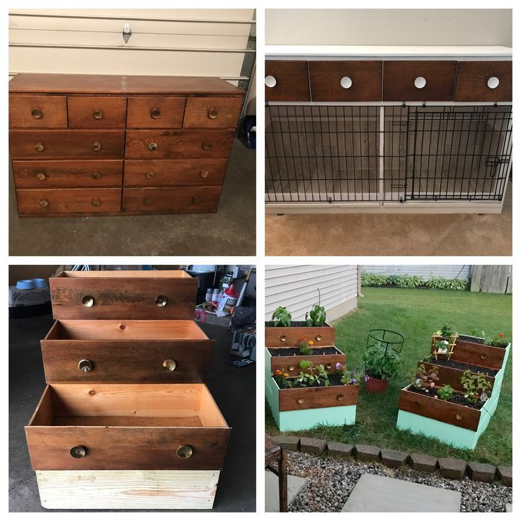 How to utilize a complete dresser dog kennel and garden