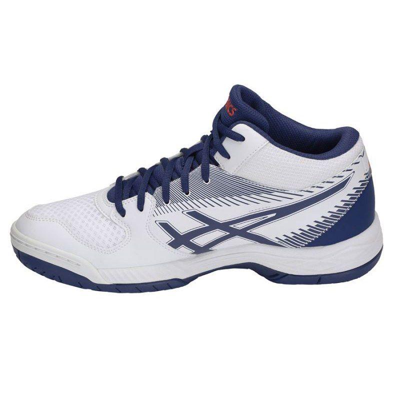 Buty do siatkówki Asics Gel Task M B703Y 100 białe biały em