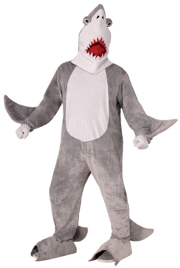 Chomper the Shark Adult Costume   Men Costumes   Pinterest   Woman ...