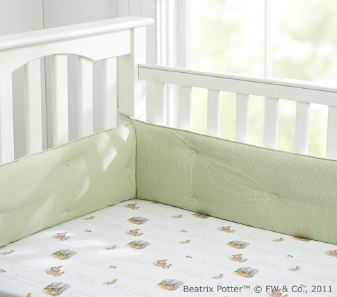 Peter Rabbit Crib Fitted Sheet, Peter Rabbit Baby Boy Bedding