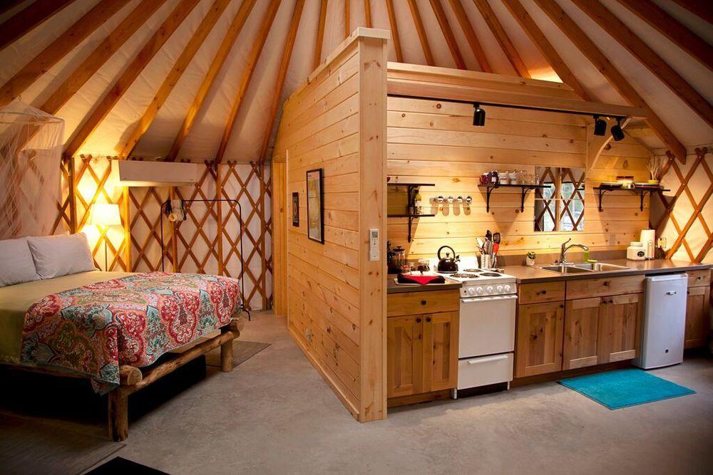 hallway | yurt interiors | pinterest | yurts, yurt living and