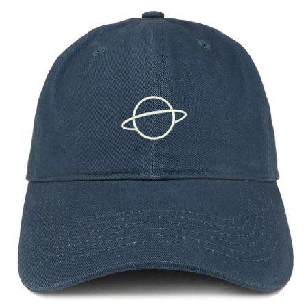 5543de31f0eb8 Buy Planet Embroidered Soft Cotton Adjustable Cap Dad Hat - Maroon at  Walmart.com