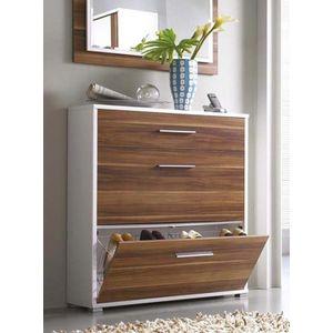 تسوق Art Home كلاسيك ستايل جزامة خشب بني جوميا مصر Wooden Shoe Storage Shoe Cabinet Shoe Storage Design