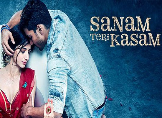Watch The Video Of Romantic Title Track Of Sanam Teri Kasam Cine Newz Sanam Teri Kasam Sanam Teri Kasam Movie Bollywood Songs