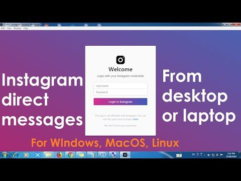 How to Read Instagram direct messages on desktop