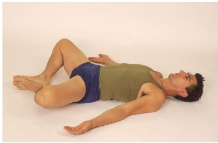 Image result for reclining butterfly pose yoga mens