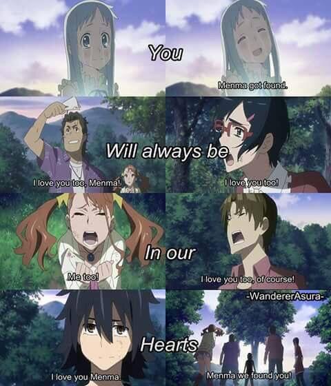 Anime Anohana Anime Kawaii Anime Menma Anohana
