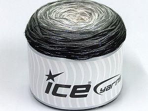 Cotton Knitting Yarn Australia : Cakes cotton fine glitz white silver grey black lovely new