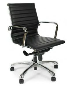 Segmented Leather Conference Office Chair With Images Best