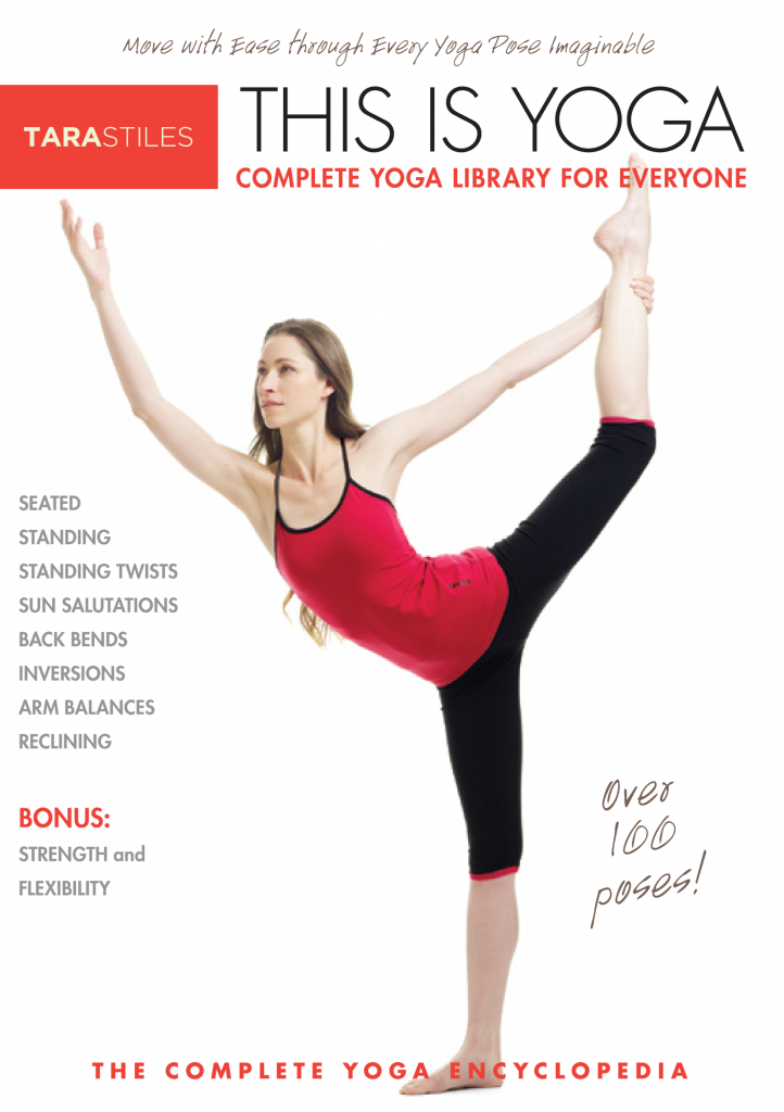 Tara Stiles\' brand- new This is Yoga DVD set. | yoga | Pinterest ...