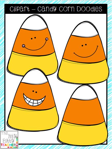 FREE Clipart Candy Corn Doodles Free clip art, Clip