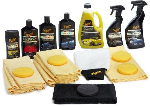 Awesome Meguiar S Ultimate Car Care Kit Automotive Detailing Products