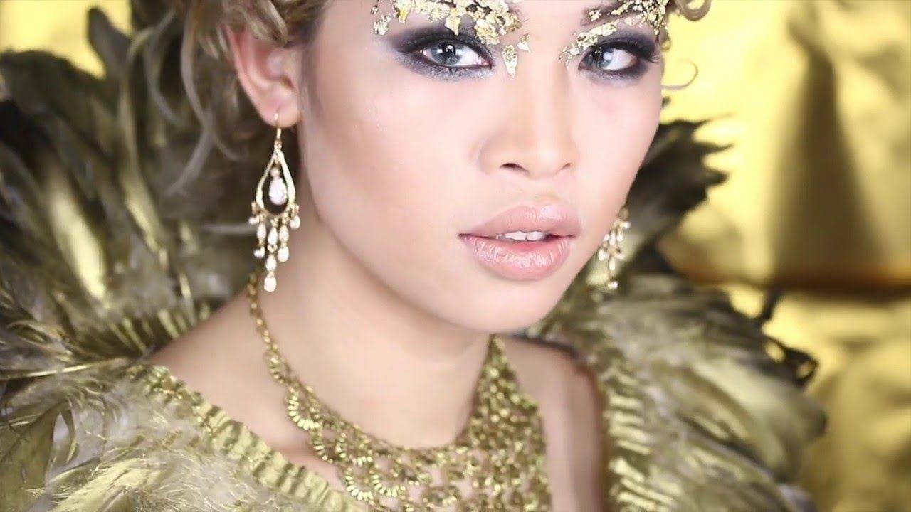 How To Get The Look Huntsman Ravenna Evil Queen Makeup Inspired Evil Queen Makeup Queen Makeup Dance Makeup