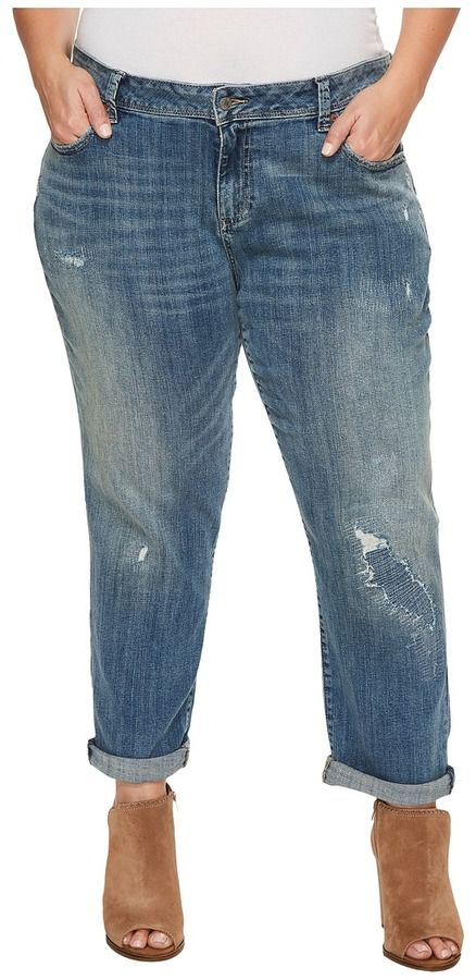 9da2cd8be28 Lucky Brand Plus Size Reese Boyfriend in Bedias Women s Jeans ...