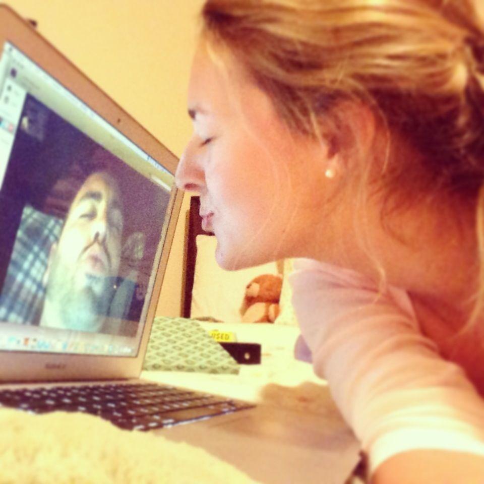 Skype dates make me happy. :-)