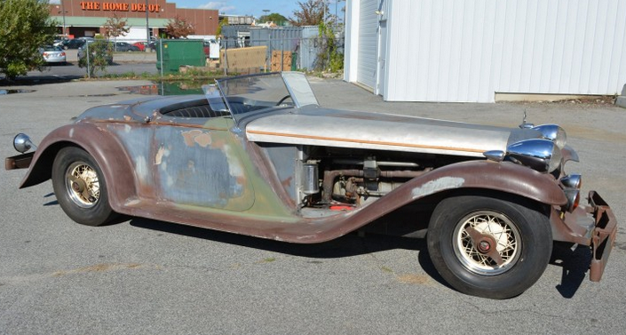 1930 Cadillac V 16 Hotrod Been In Storage Since The Forties