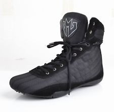 d091dad9c3741c UNLEASHED HIGH TOP GYM SHOES - MMA WEIGHT LIFTING BODYBUILDING POWERLIFTING
