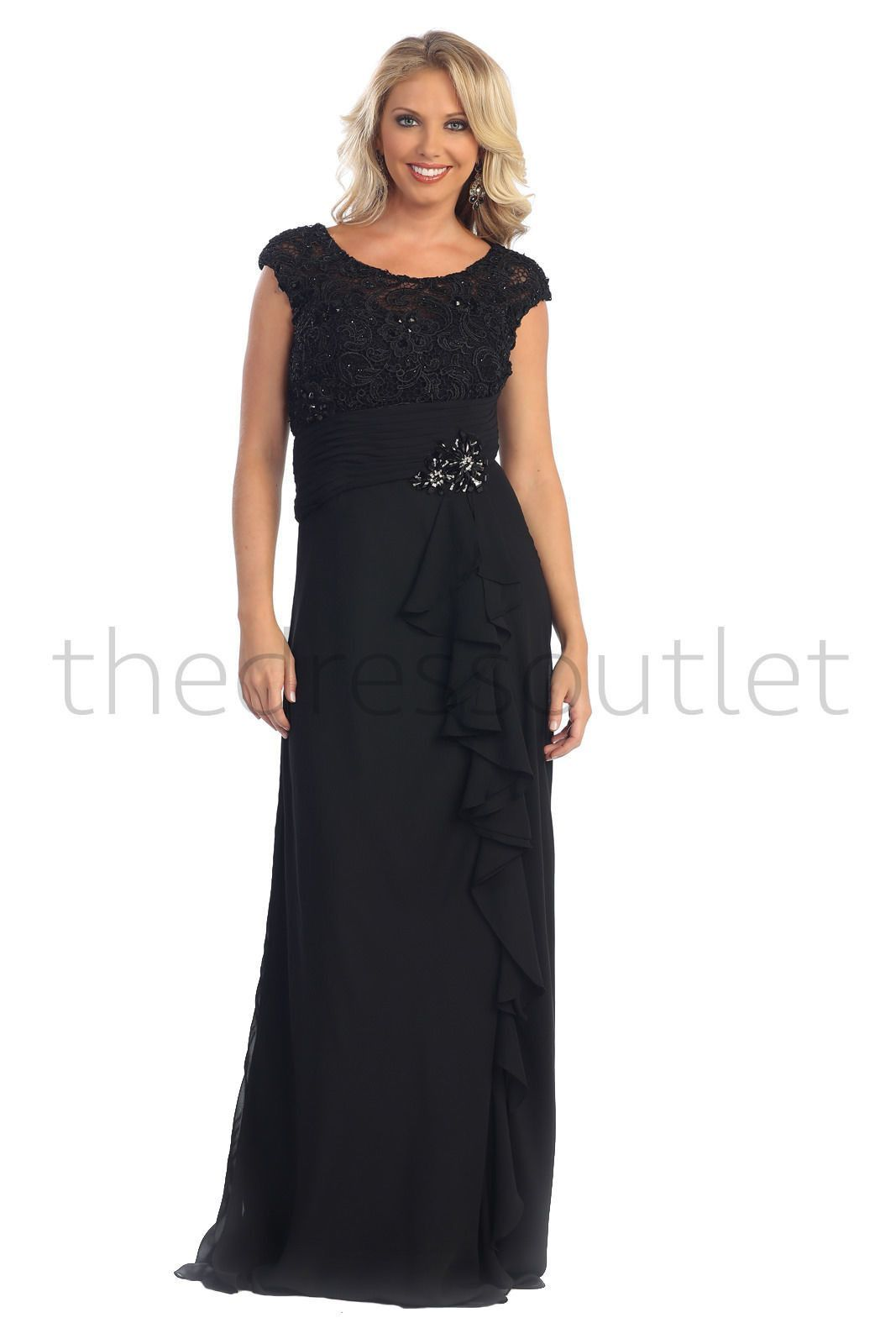 Long formal mother of the bride dress mothers formal gowns