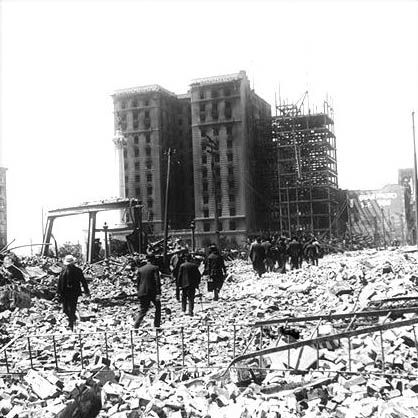 Faultline 1906 St Francis Hotel San Francisco Earthquake St Francis Union Square
