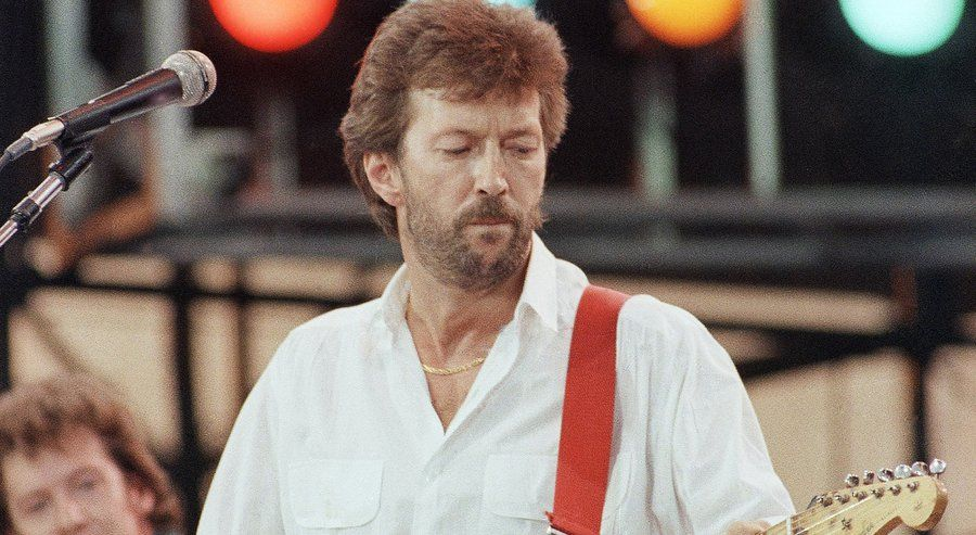 Live Aid Turns 30 Today Watch Highlights Live Aid Eric Clapton Music History