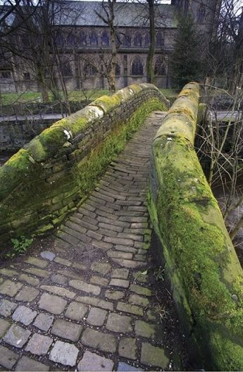 Mellor Packhorse Bridge, Marsden, West Yorkshire.