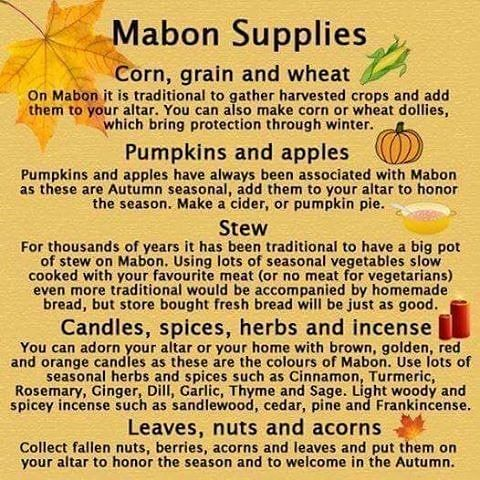 Mabon is fastly approaching. Do you celebrate second harvest/first day of fall? If so how do you celebrate. My birthday usually falls on… #maboncelebration