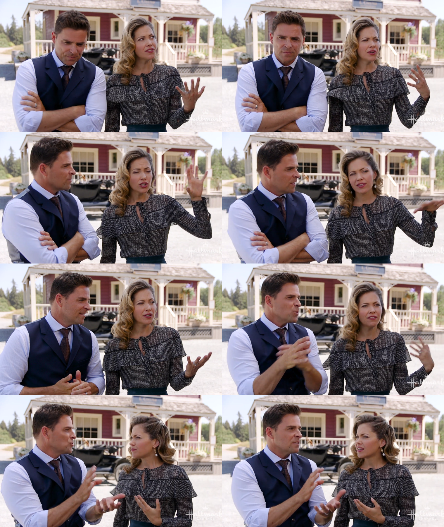 Pascale Hutton and Kavan Smith.