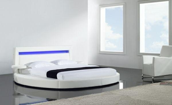 Rundbetten Ermitteln Eine Gehobene Atmosphare Im Schlafzimmer