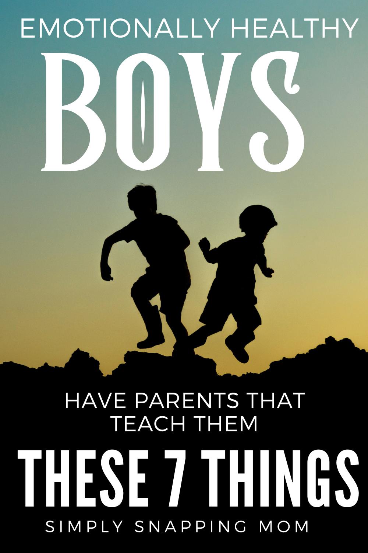 Raising Sons to be Men