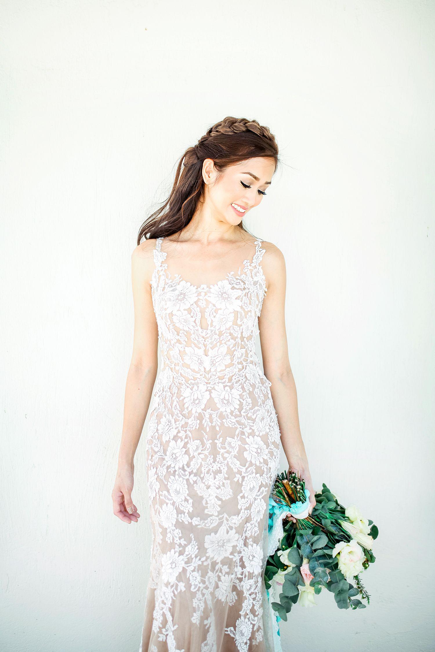 Amazing Beach Wedding In The Philippines Trendy Wedding Dresses Lace Beach Wedding Dress Wedding Dress Inspiration [ 2250 x 1500 Pixel ]