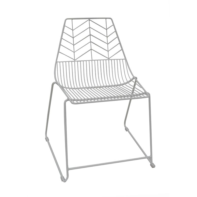Find Marquee White Iron Modern Zozo Wire Chair At Bunnings Warehouse Visit Your Local For The Widest Range Of Outdoor Living Products