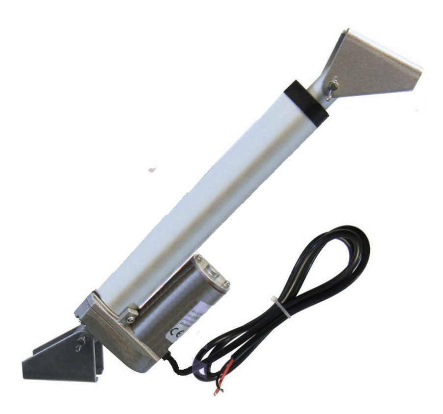 """Water Resistant Linear Actuator 12/"""" Stroke 225 Pound Max Lift 12V DC Heavy Duty"""