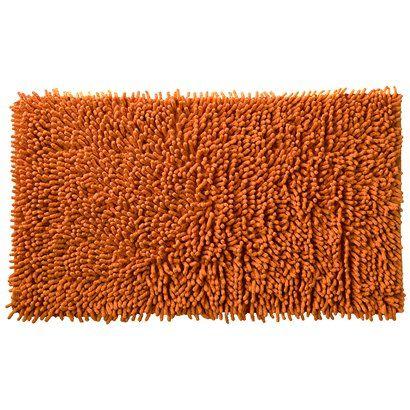 All That Jazz Bath Rug Orange 21x34 Orange Bath Rug Bath Rug Orange Bathroom Rug