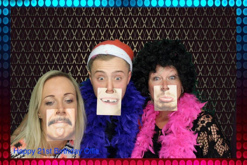 Photobooth fun! Face Mats make the perfect addition to any prop box