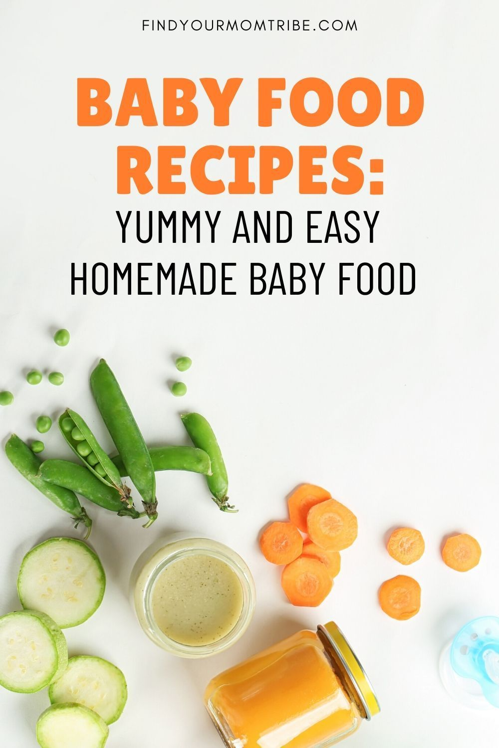 If you're looking to start your baby on solid foods, these DIY baby food recipes are sure to turn you into your baby's favorite chef! #babyfood #homemadebabyfood #babyfoodrecipes #healthybabyfood #babysolidfood #babyrecipes #babypuree #babypureerecipes #makingbabyfood #organicbabyfood #howtomakebabyfood #makingbabyfood #bestbabyfood #makeyourownbabyfood #babyfirstfood #naturalbabyfood #findyourmomtribe