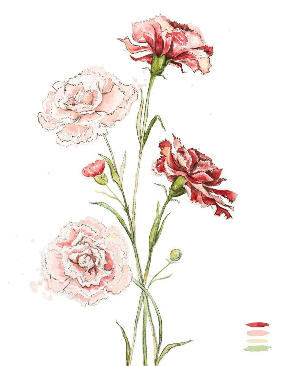 Pin By Amanda Johnson On Products You Tagged Floral Wall Art Watercolor Flowers Nursery Art Girl