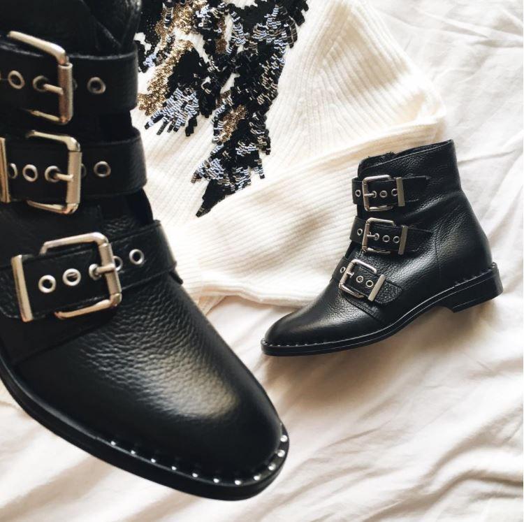 Boots en cuir #boots #chaussures #tendances #look #cuir
