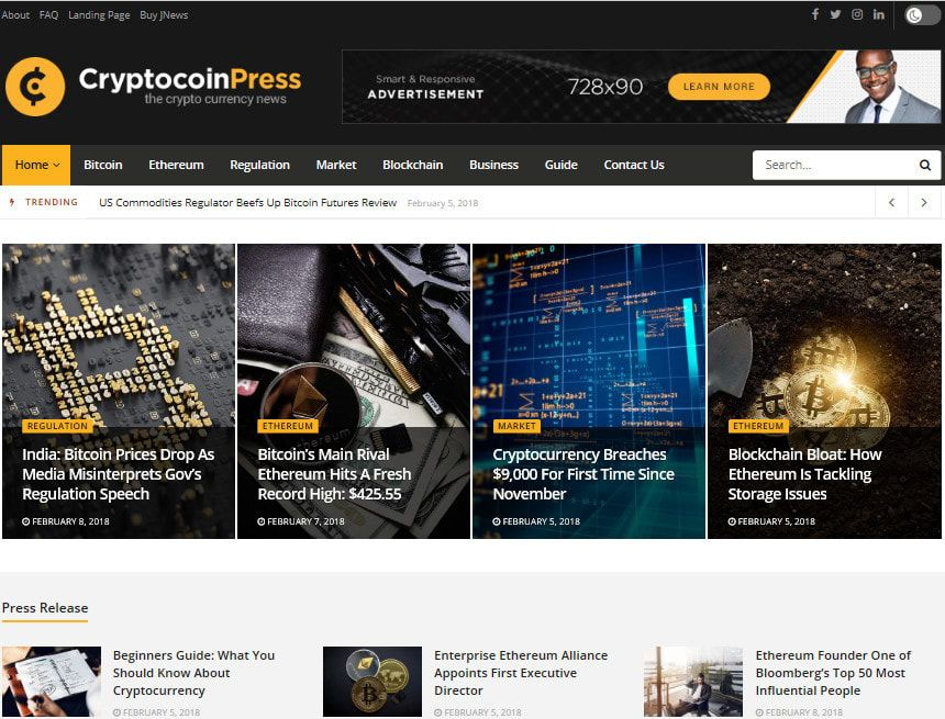 bitcoin ca mercato