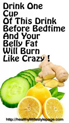 Drink One Cup Of This Drink Before Bedtime And Your Belly Fat Will Burn Like Crazy !